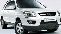 Kia Sportage Facelifted Facelift
