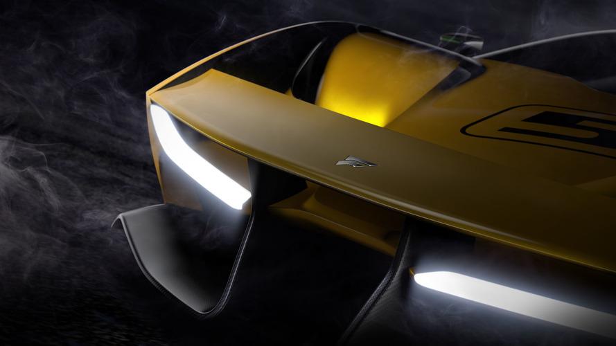 Fittipaldi supercar teases its carbon fiber body