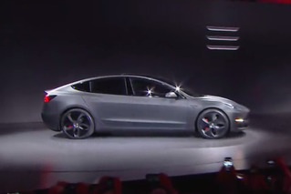 Tesla Introduces $35,000 Model 3 With 215-Mile Range