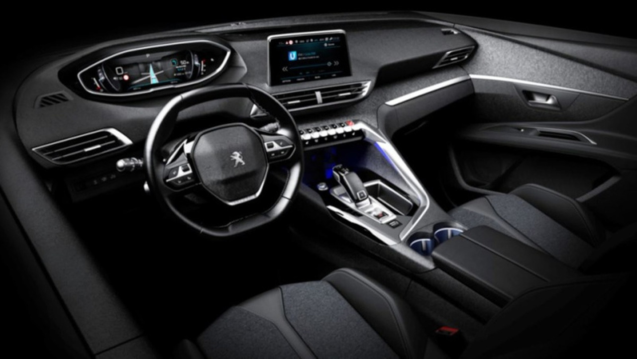 Ford Focus 2017 Interior >> 2017 Peugeot 3008 official interior pics leaked
