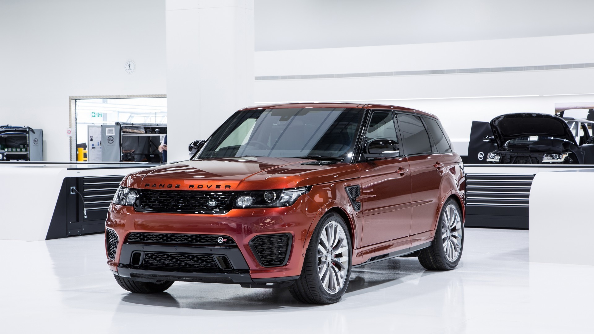 Land Rover Evoque Used >> Jaguar Land Rover to launch one new SVR model per year until 2020
