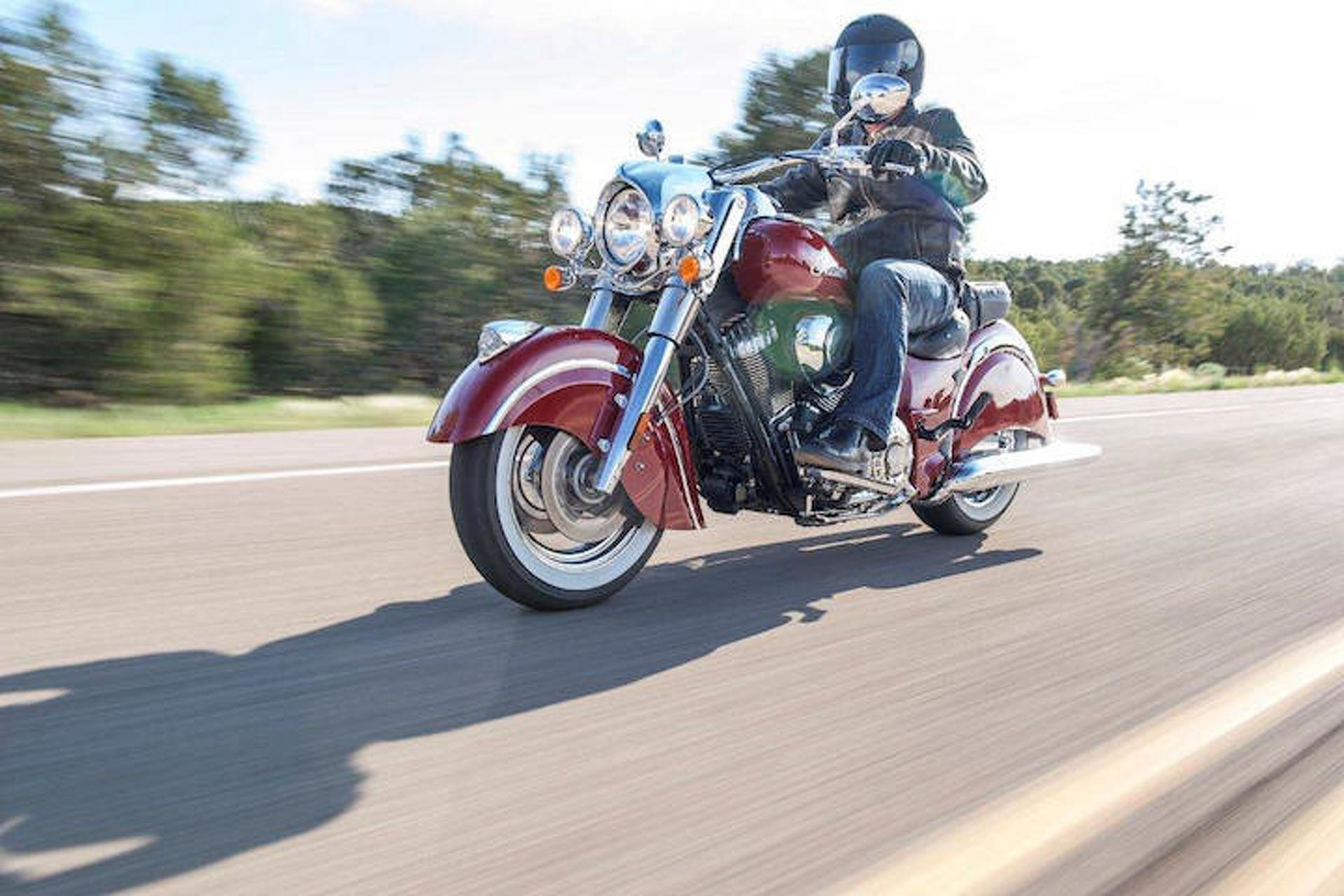 Ride Home on an Indian Chief Classic Courtesy of eBay Motors