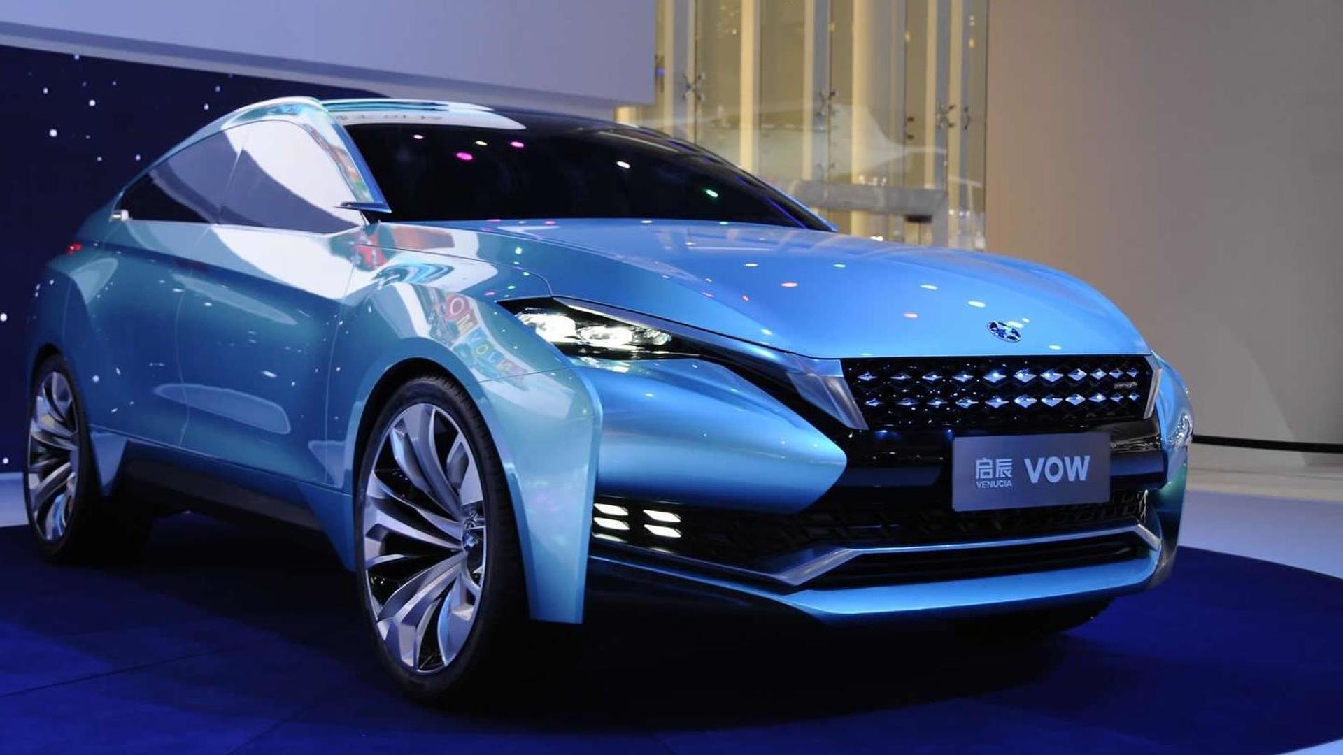 Venucia VOW concept breaks cover at Auto Shanghai