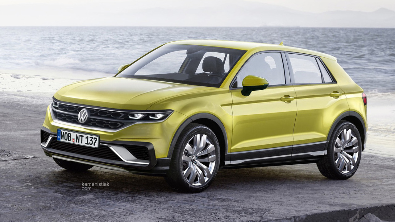 vw-polo-ba​sed-crosso​ver-render​ing