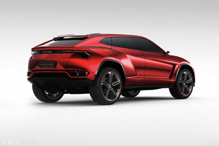 Unveiled: Lamborghini Urus SUV Concept