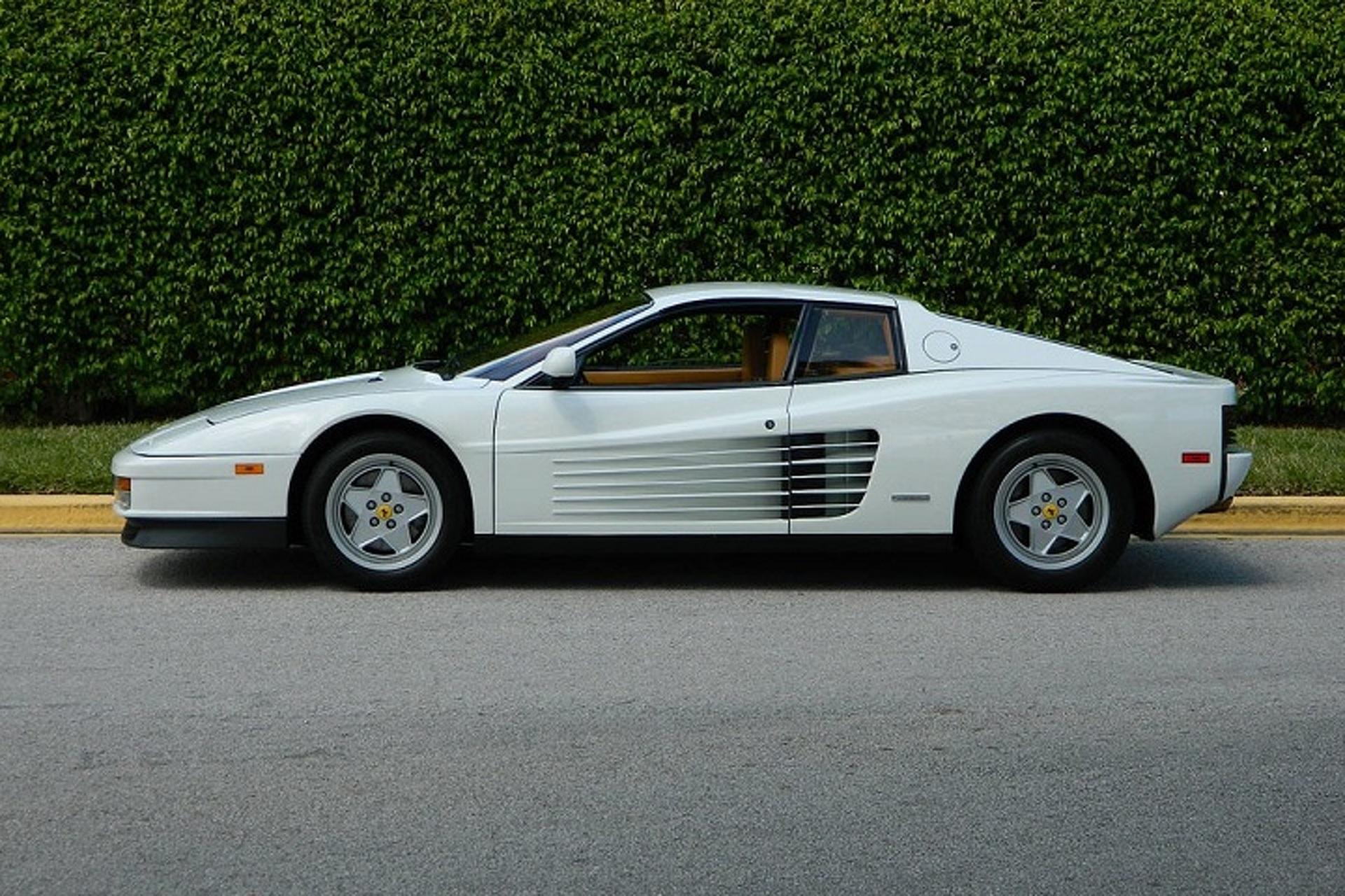 You Can Buy The Wolf of Wall Street's Ferrari Testarossa