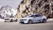BMW 2002 Hommage concept unveiled at Concorso d'Eleganza Villa d'Este