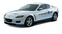 Mazda RX-8 Hydrogen RE European Debut