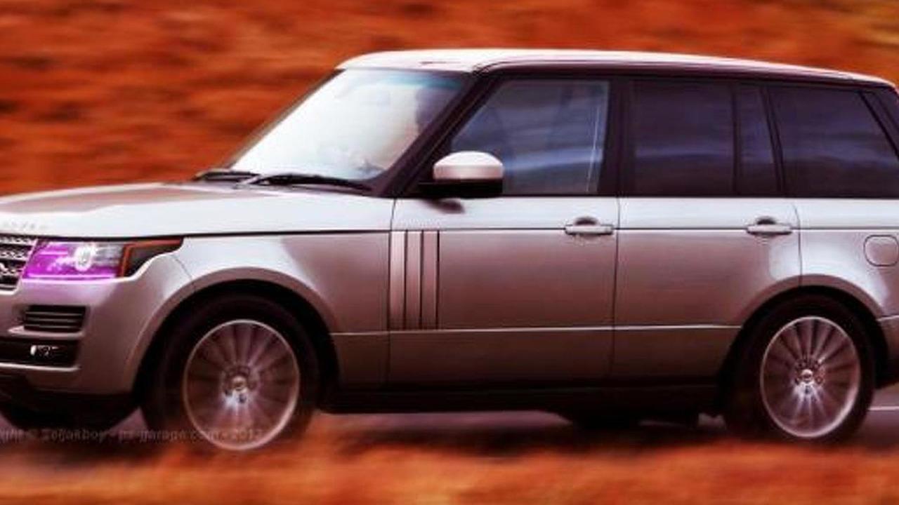2013 Range Rover rendering 29.5.2012