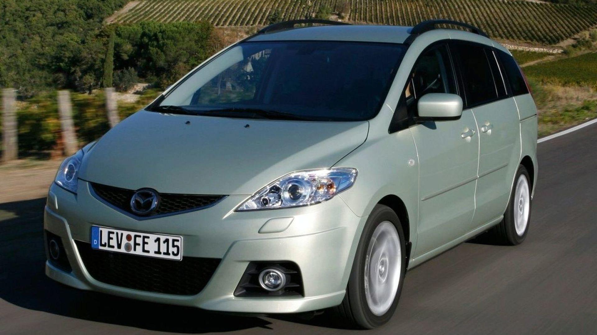 2008 Mazda5 Facelift set for Bologna Debut