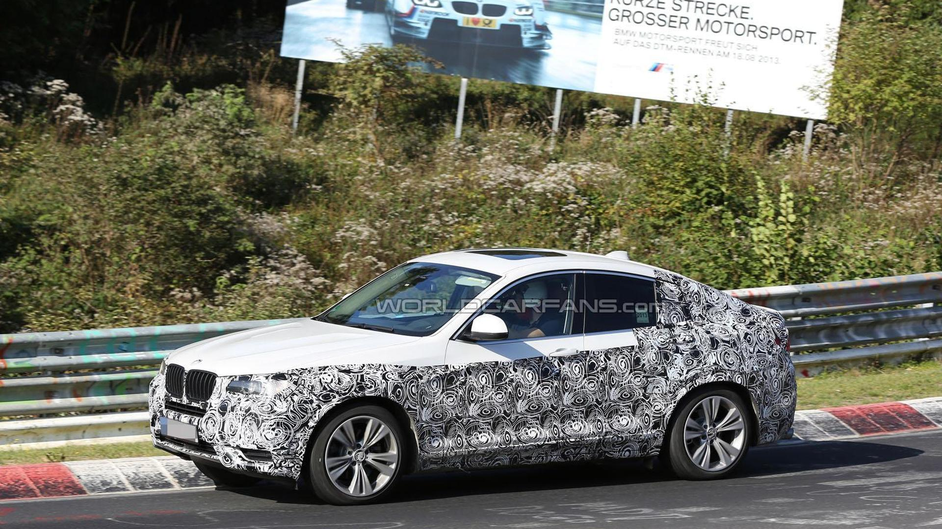 BMW X4 to debut at the New York Auto Show - report