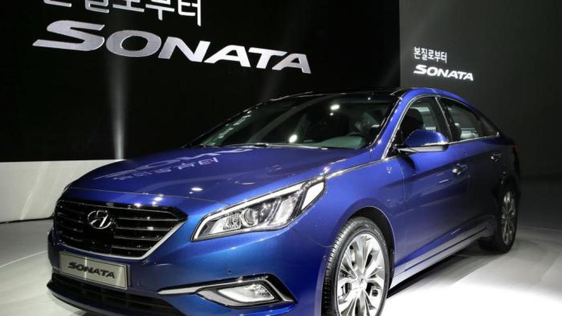 Larger and more upscale 2015 Hyundai Sonata goes official