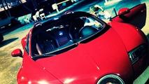 Justin Bieber shows off his new Bugatti Veyron Grand Sport