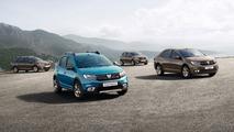 Dacia Logan, Sandero facelift