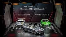 Mercedes-AMG GT C Roadster at Paris Motor Show