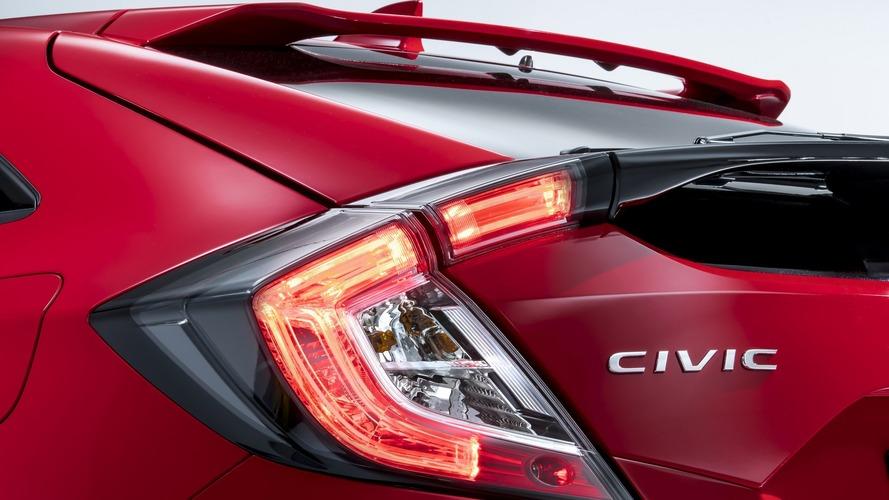 2017 Honda Civic Hatchback in Euro guise teased