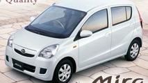 Redesigned Daihatsu Mira