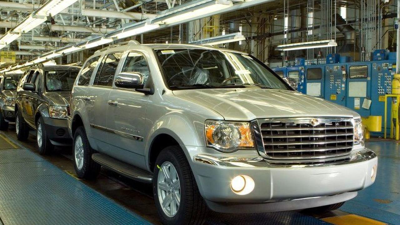 All New Chrysler Aspen Production Line