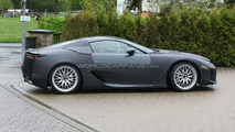 Lexus LF-A production version spy photo