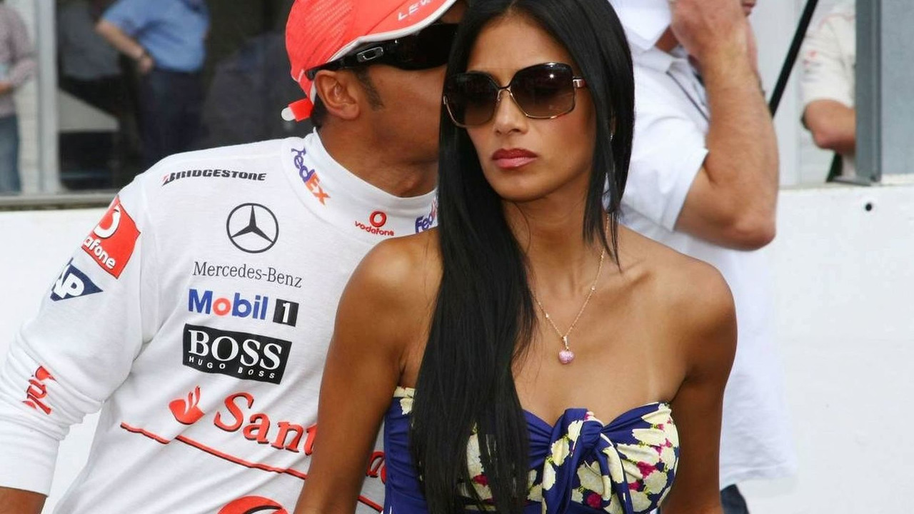 Nicole Scherzinger (USA), Singer in the Pussycat Dolls and girlfriend of Lewis Hamilton (GBR), Hungarian Grand Prix, Budapest, Hungary, 26.07.2009