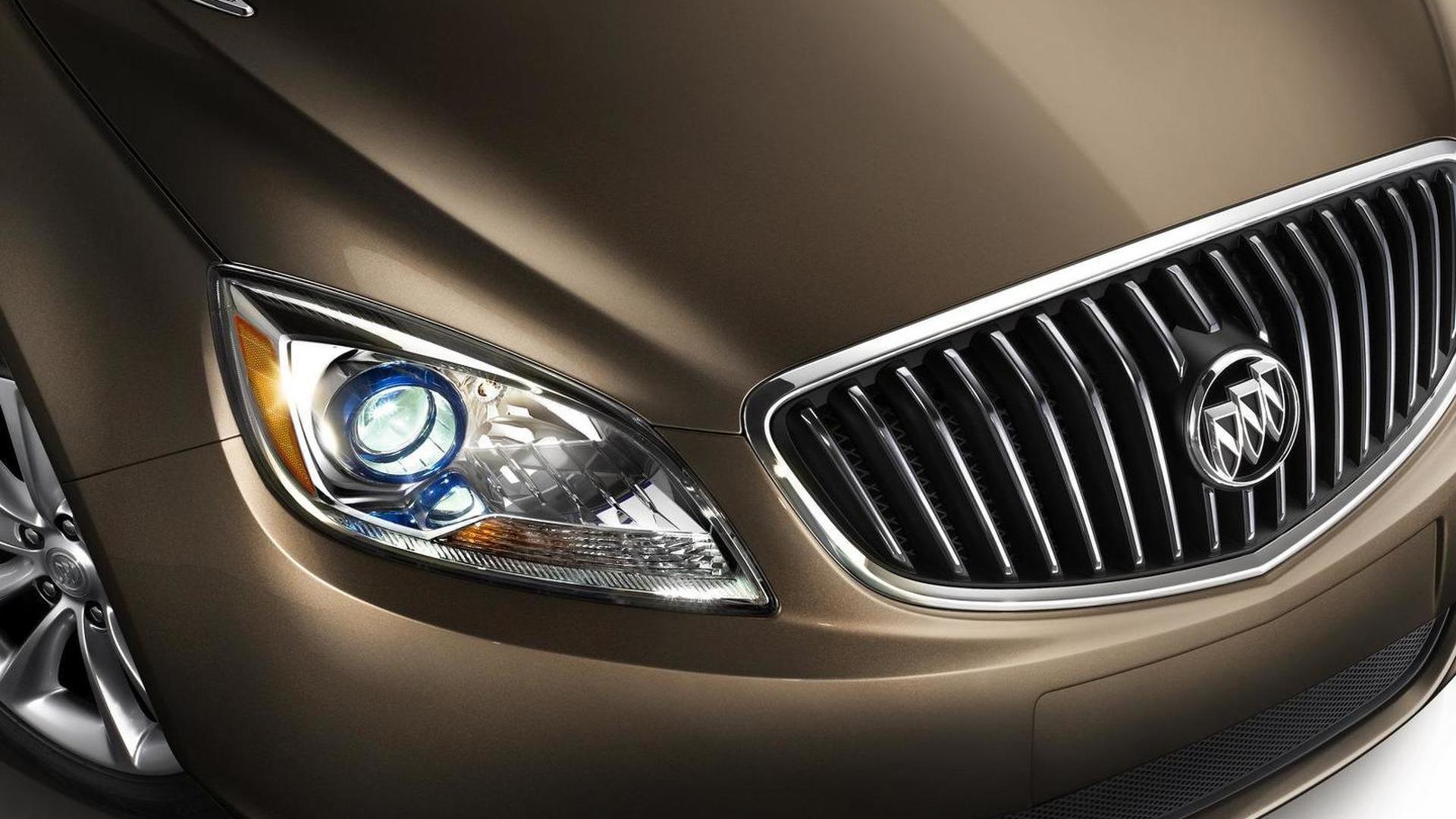 2012 Buick Verano Teased