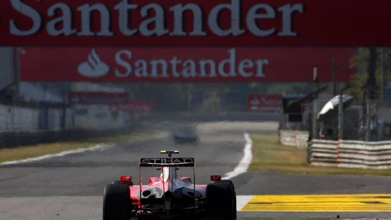Giancarlo Fisichella (ITA), Scuderia Ferrari, SANTANDER - Formula 1 World Championship, Rd 13, Italian Grand Prix, 11.09.2009 Monza, Italy