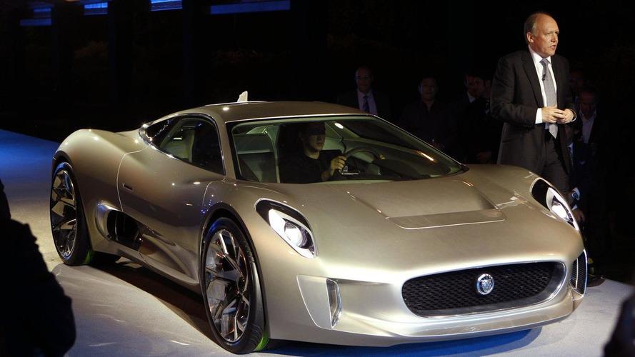 Jaguar C-X75 supercar concept revealed in Paris