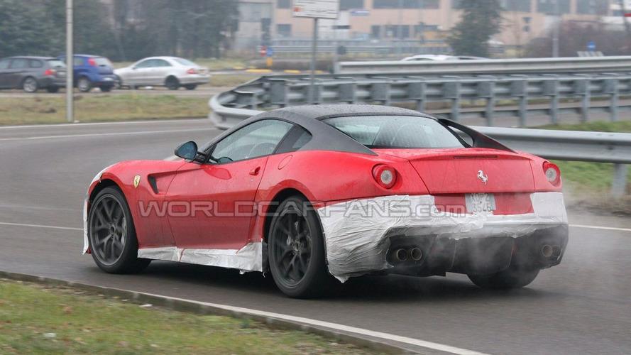 Ferrari 599 GTO Spied in Maranello