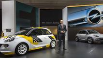 Opel Adam R2 & Opel Adam Rocks concepts live in Geneva 05.3.2013