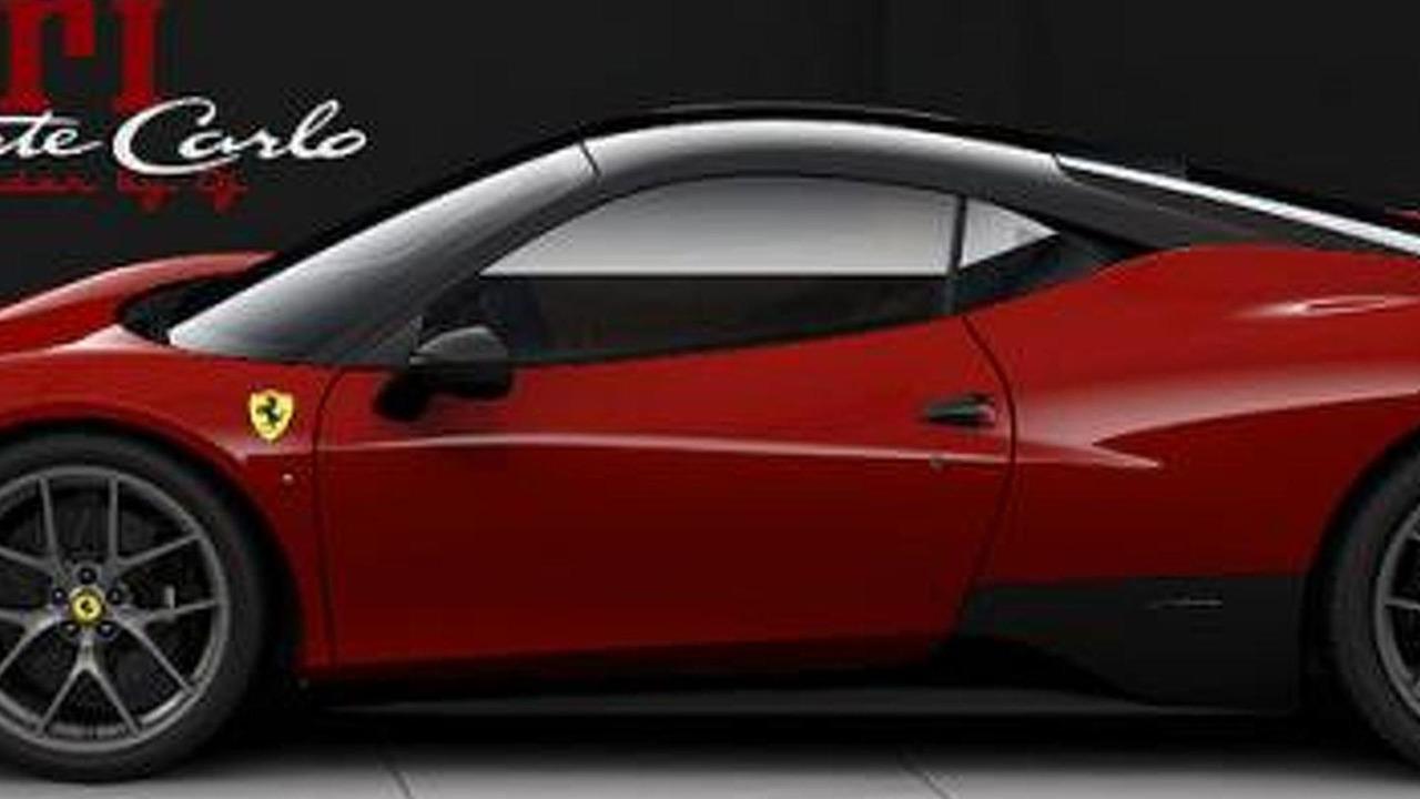 Ferrari 458 Monte Carlo render / teamspeed.com
