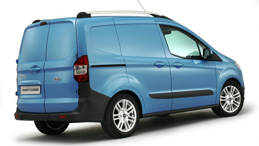 2013 Ford Transit Courier introduced at Birmingham CV Show