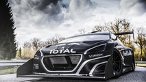 Peugeot 208 T16 Pikes Peak shown in race livery