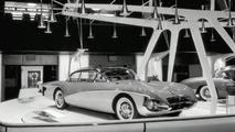 Motorama Display with 1956 Buick Centurion Dream Car