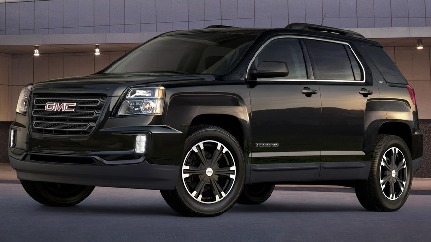 2017 GMC Terrain Nightfall Edition brings sinister look