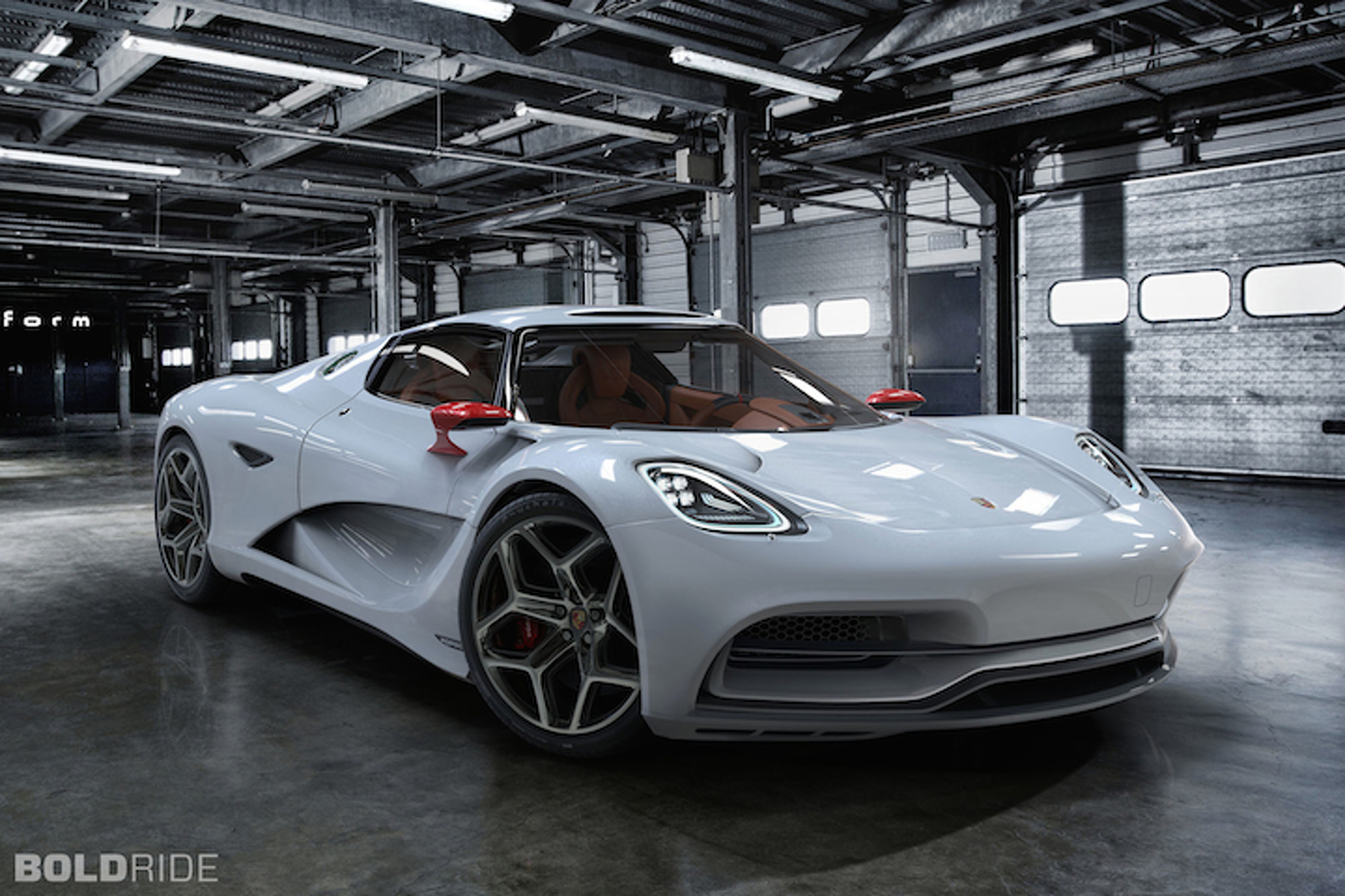 Porsche 913 Concept Previews the Ferrari Fighter We've Been Waiting For