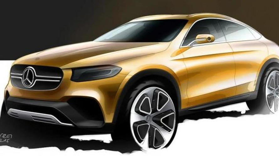 Mercedes-Benz GLC Coupe design sketch released