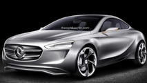 Mercedes-Benz's Audi TT competitor rendered