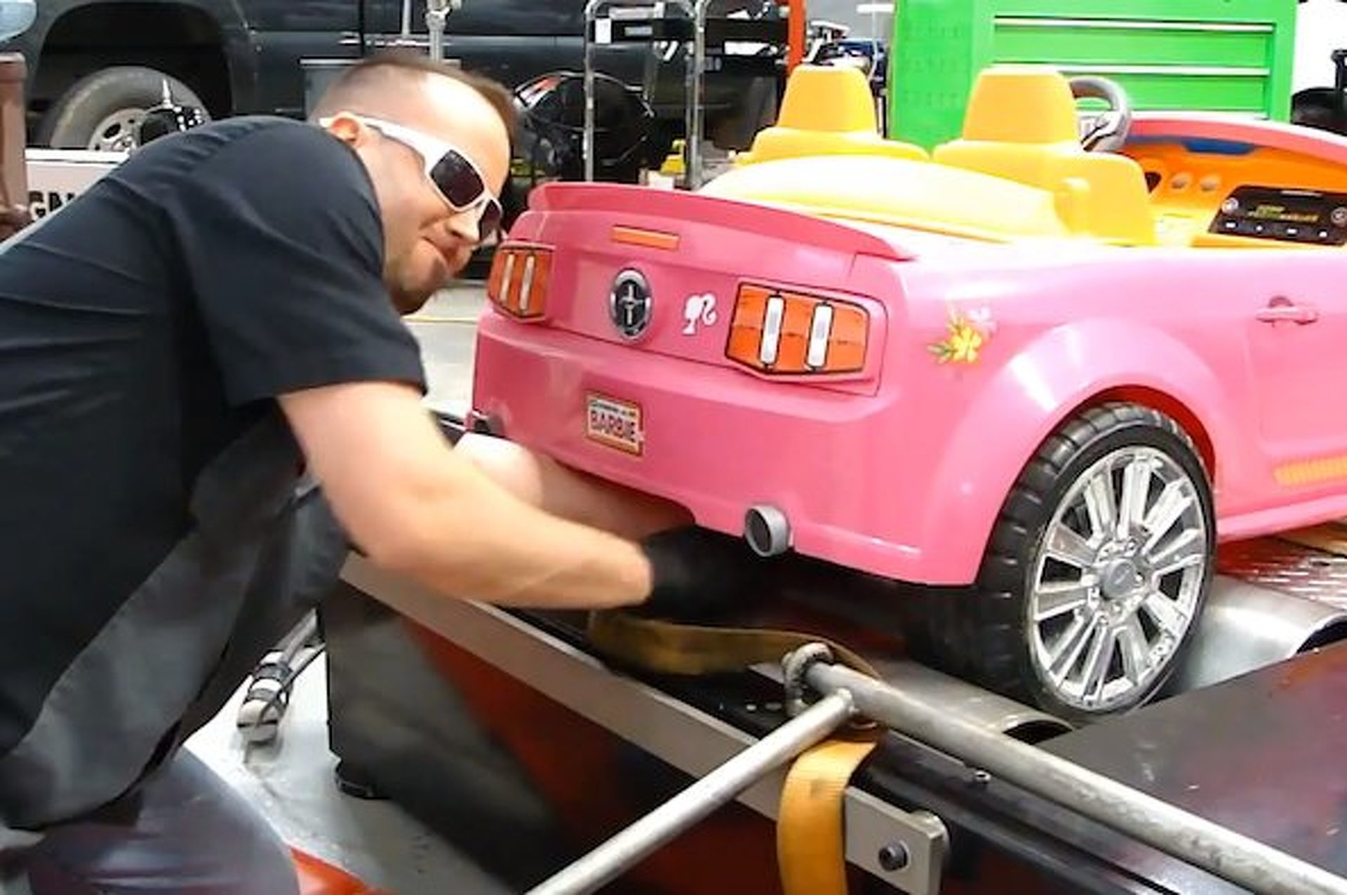 Barbie Power Wheels Gets Dyno'd [video]