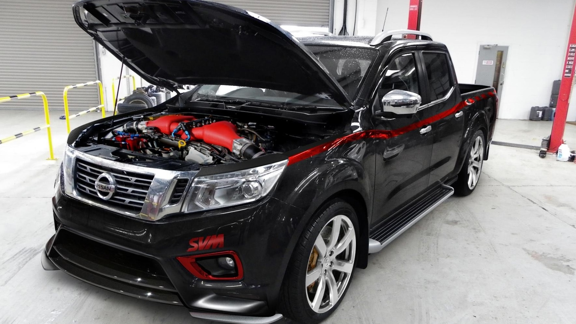 800-hp Nissan Navara has GT-R engine, upgradeable to 1,500 hp