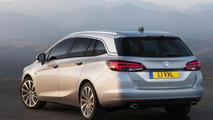 2016 Opel / Vauxhall Astra Sports Tourer first images and details are in
