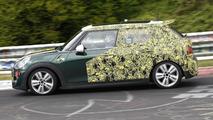 2015 MINI Cooper five-door hatchback spy photo