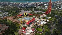 Ferrari Land in PortAventura resort in Spain