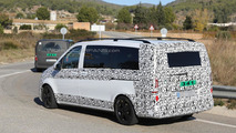 2014 Mercedes-Benz V-Class spy photo