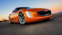 Kia GT4 Stinger concept powers into Detroit with RWD and 315 bhp [video]
