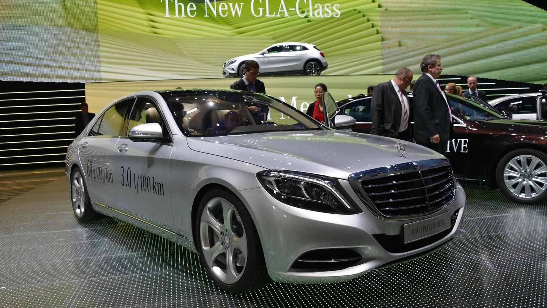 2014 Mercedes-Benz S500 Plug-In Hybrid arrives at IAA