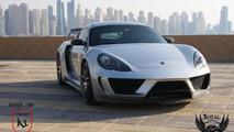 Porsche Cayman Alpha 1 Concept by Royal Customs