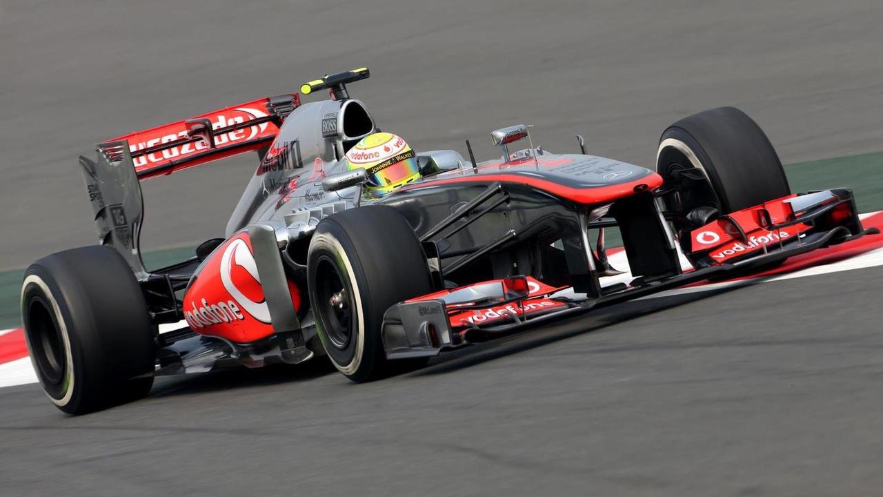 Sergio Perez 25.10.2013 Indian Grand Prix