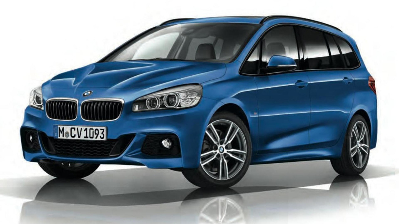 BMW 2-Series Gran Tourer with M Sport Package