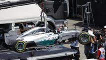 Mercedes slams 'unacceptable' Brembo failure
