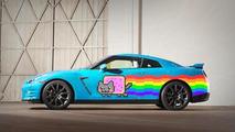 Nissan offers Deadmau5 a Nyan Cat-themed GT-R
